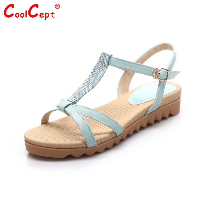 women real genuine leather bohemia slippers summer party flat sandals sexy fashion brand heeled ladies shoes
