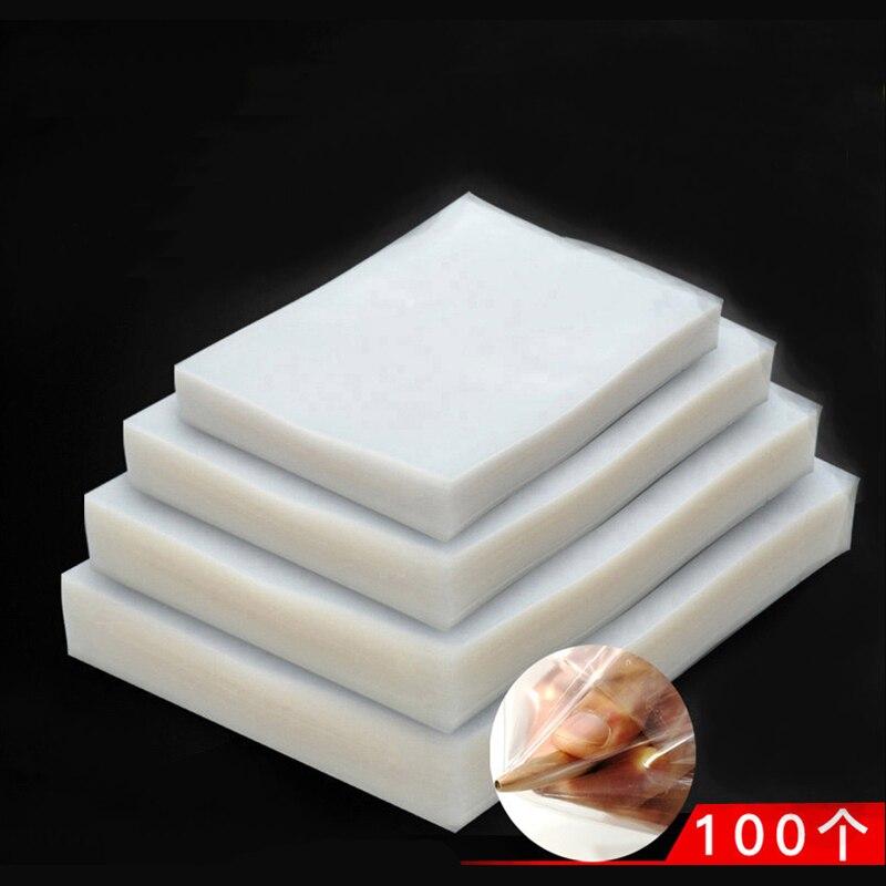 100PCS/lot Vacuum Sealer Package Bag For Kitchen Vacuum Seal Packaging Machine For Keep Food Fresh Sealing Packer Storage Bags