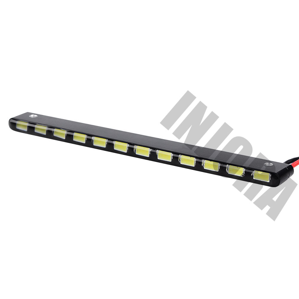 Image 2 - INJORA 12LED 130MM Super Bright Metal Light Bar with Switch for RC Rock Crawler Car Axial Wraith Series 90018 90020 90045-in Parts & Accessories from Toys & Hobbies