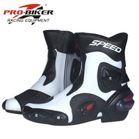 PRO BIKER brand leather breathable outdoor sports motorcycle boots motorcycle racing off road boots men/women A004