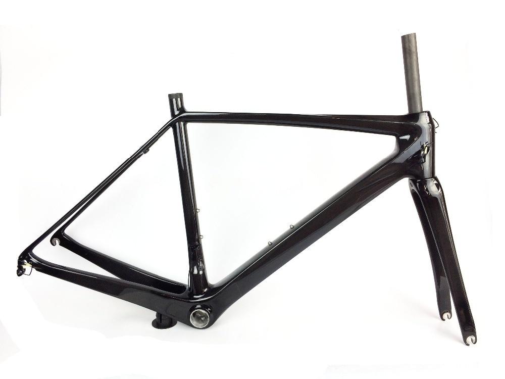 super light carbon fiber road bike frame last one in stock size 51 and 54cm 700C road racing frame