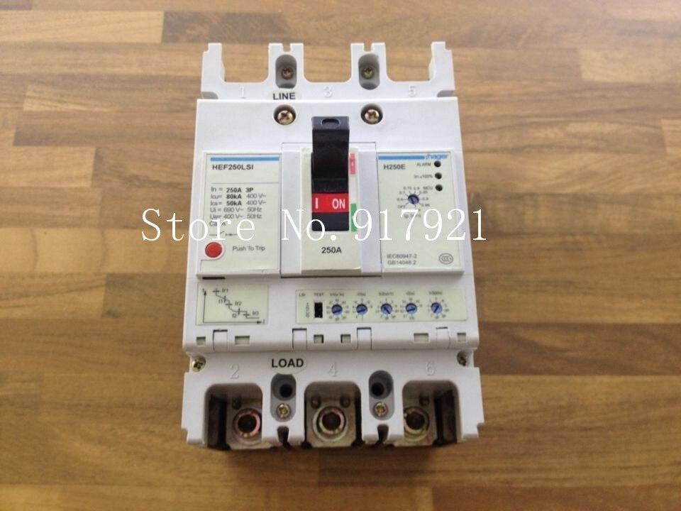 [ZOB] Hagrid HEF250LSI electronic circuit breaker H250E 3P250A