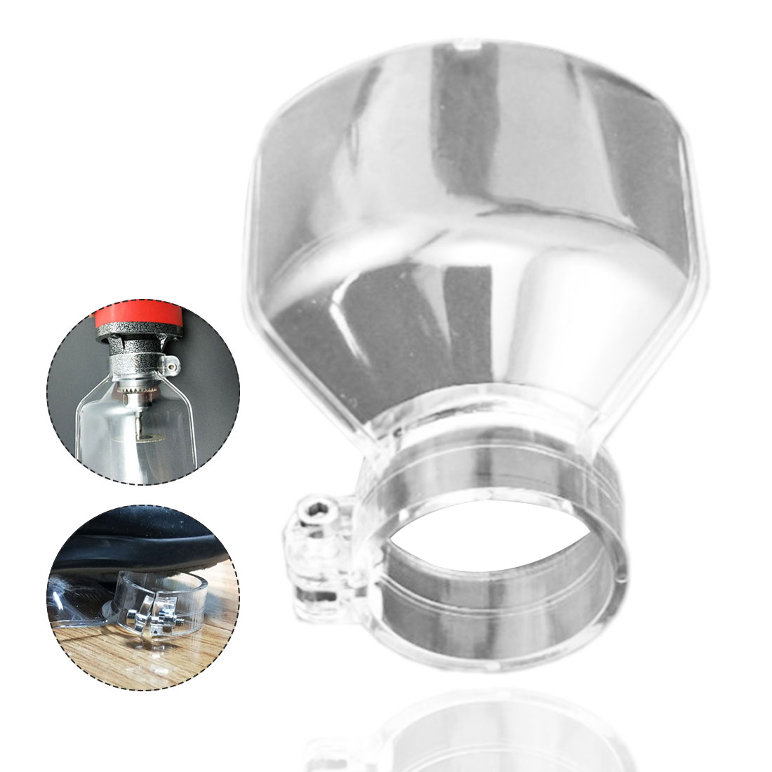 Power Tools Accessories Electric Grinding Transparent Safety Protecting Cover For Dremel Accessories Shield Mini Drill Holder