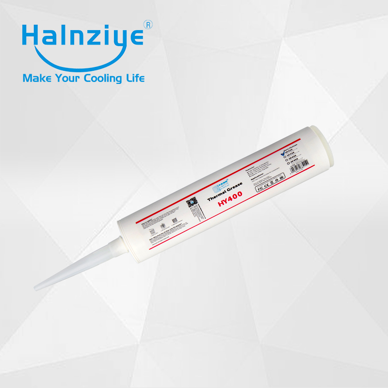 Free freight!!!White LED heat sink thermal paste compound grease HY410 330ml(500g) for industrial package professional thermal heat sink compound with injection tube 30g