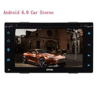 2din Electronics Android 6.0 Car Stereo Wifi full Touch Panel Car DVD PC Tablet in Dash GPS Navigation Head Unit Screen Mirror