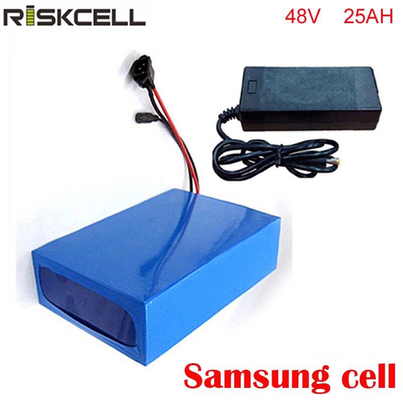 Batterie au Lithium 48 V 25AH batterie de vélo électrique batterie 48 V 1000 W batterie Lithium-ion ebike pour moteur 48 v 1000 W bafang