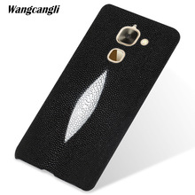 wangcangli Custom pearl leather phone case for LeEco max2 half-pack mobile