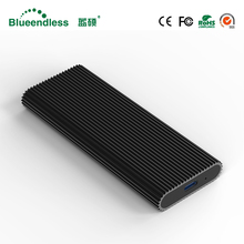 Blueendless M 2 portable ssd hard disk cases type c usb 3 1 high speed hard
