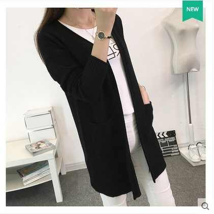 New 2016 Women Wool Sweater Cardigan Female Cashmere Knitted Plus Size Coat pull femme Fashion Long Sleeve Loose Sweaters
