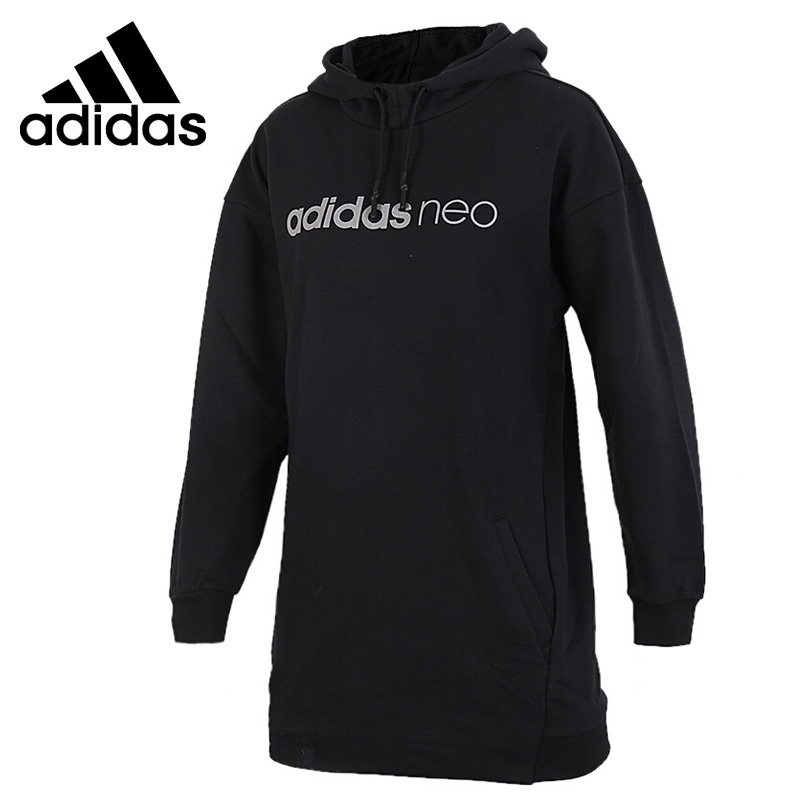 Original New Arrival 2018 Adidas Neo Label W LGNTD HDY Women's Pullover Hoodies Sportswear bona new classics style men running shoes mesh men athletic shoes lace up men outdoor sneakers shoes light soft free shipping