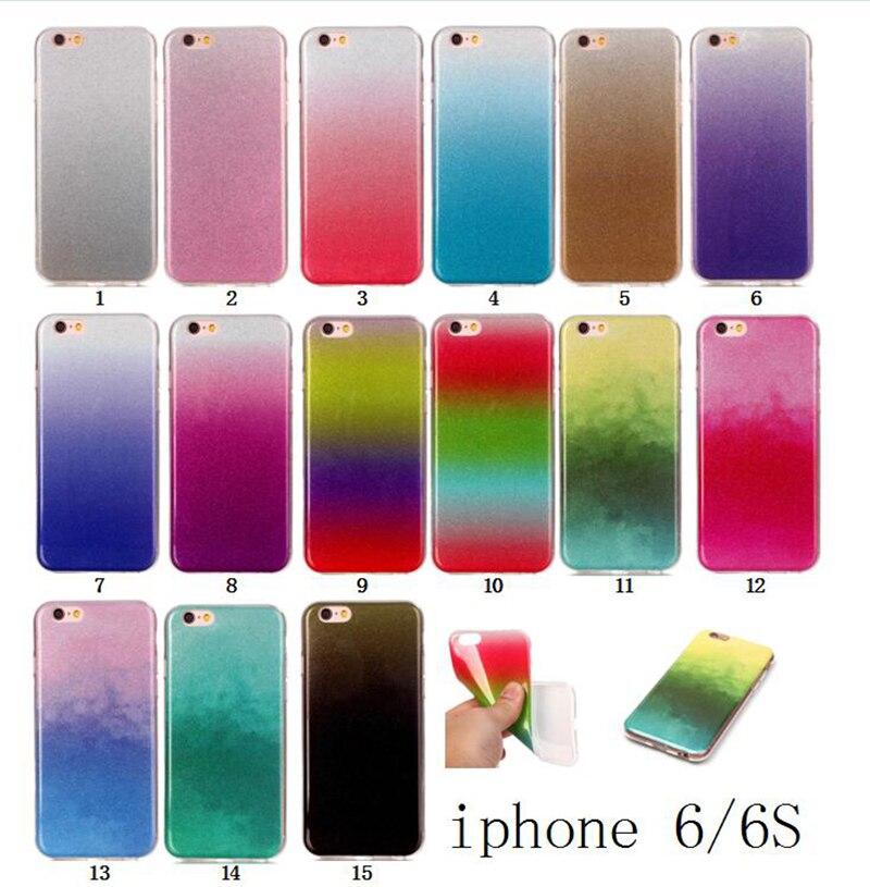 Para iphone 6 case suciedad resistente tpu suave silicona 4.7 pulgadas accesorio