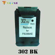 For HP 302 Black Ink Cartridge for HP302 xl 302xl Deskjet 2130 1112 3630 3632 Officejet 4650 4652 4655 ENVY 4516 4520 NS45 xiongcai compatible ink cartridge for hp 302 envy 4520 deskjet 1110 2130 1112 3630 3830 officejet 4650 4652 printer for hp302 xl