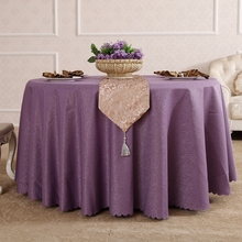 Butterfly Love Flower Rectangle Small Polyester Jacquard Hotel Tablecloths Wedding Table Round Cloth Mark Place