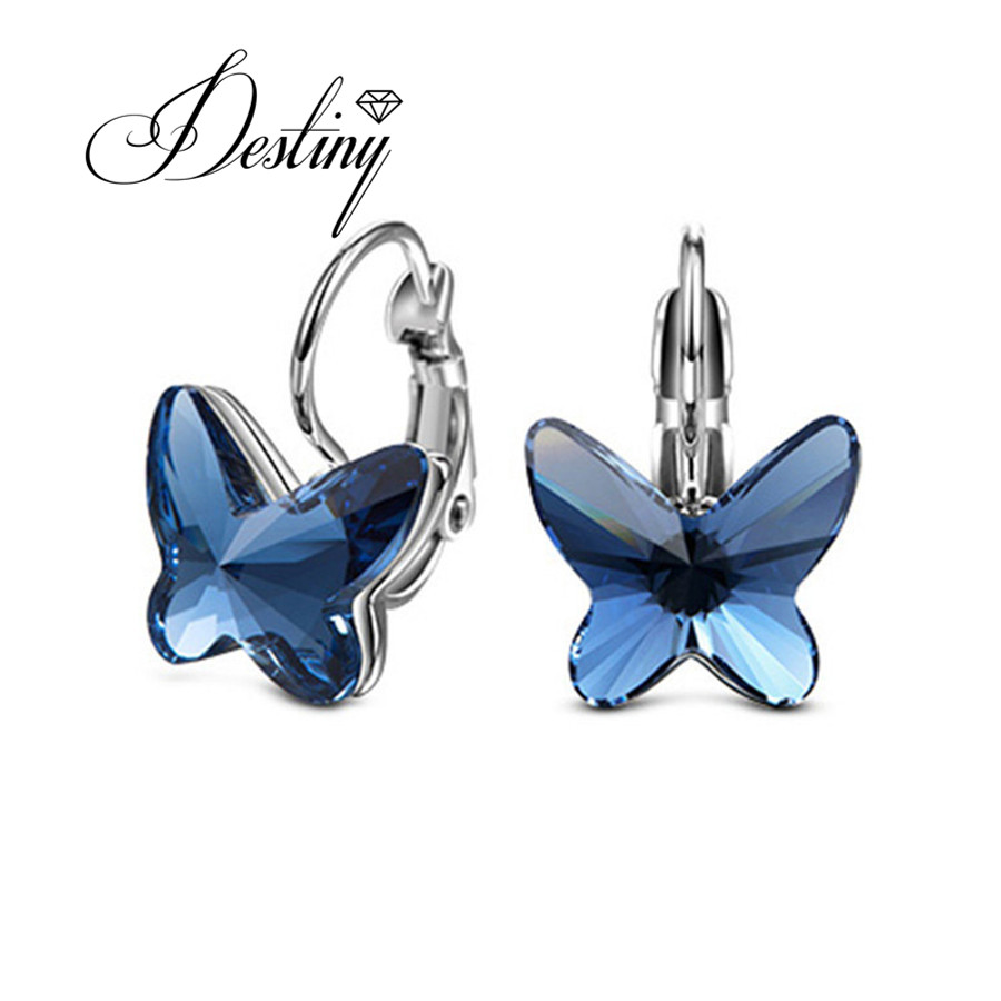 Destiny Jewellery Embellished With Crystals From Swarovski Earrings Trendy  Butterfly Earrings De0272(china (mainland