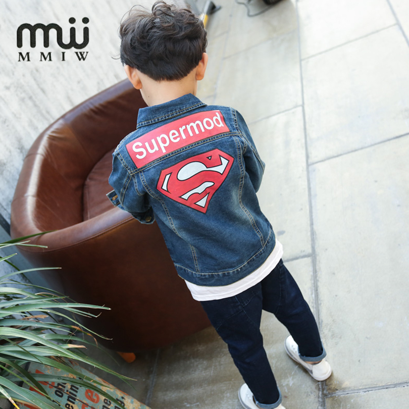 d7d4fe78a MMIW 2017 High Quality Baby Jacket For Boys Girls Kids Superman ...