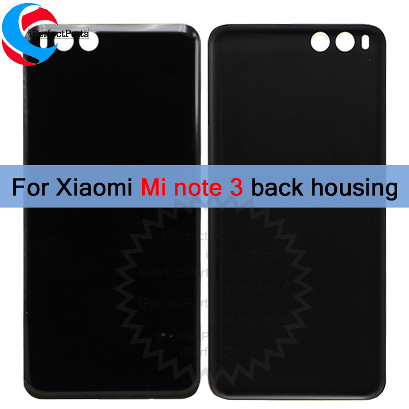 New Batter Rear Housing For Xiaomi Mi Note 3 Back Cover Battery Glass Housing For Xiaomi Mi Note3 Rear Back Cover+tools Back To Search Resultscellphones & Telecommunications