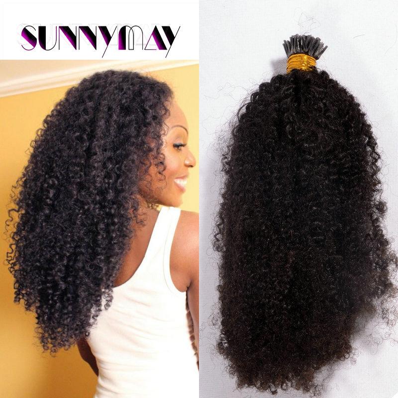 8A Brazilian Virgin Hair Weave Afro Kinky Curly 1gStrand