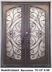 Iron Main Door Design Security Wrought Iron Entry Doors
