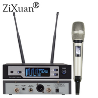 SKM 9100 Professional digital microphone wireless True diversity microphone for large scale performance skm microphone