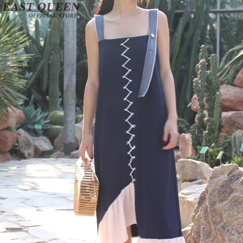 Femmes robes asymétriques d'été femme mode pinafpre été 2018 robe femmes robes asymétrique décontracté robe d'été KK1168