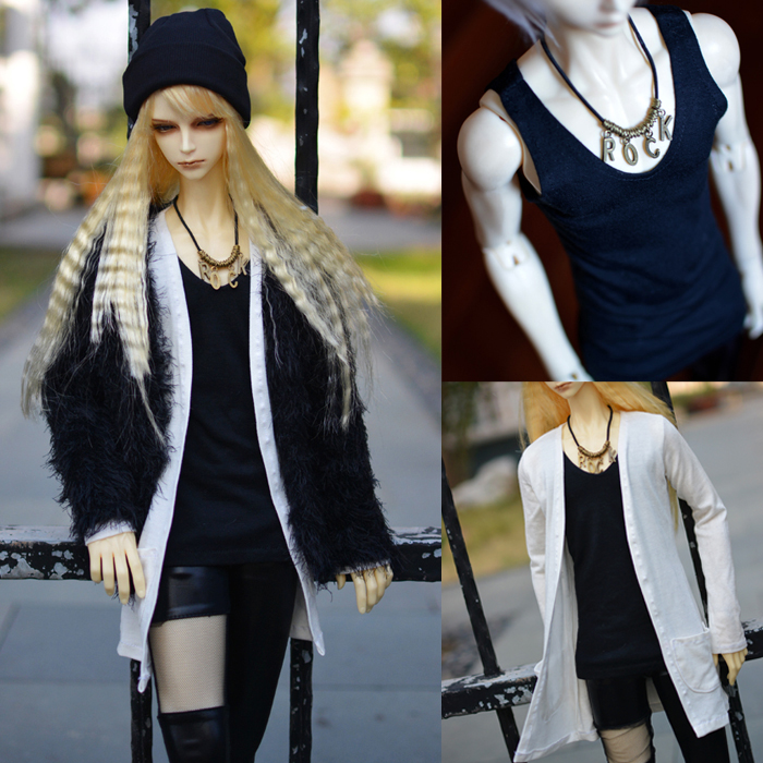1/3 1/4 scale BJD clothes coat+pants+vest+hat set doll accessories for BJD/SD EID.Not included doll,shoes and other accessories 1 4 1 3 uncle sd17 msd bjd sd doll accessories bjd clothes white red black pants
