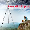 New mini camera Tripod Flexible Extendable + phone holder 4 Sections 105cm Universal digital camera smartphone DV with Bag