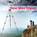 Nuevo mini Trípode de cámara Flexible Extensible + soporte para teléfono 4 Secciones 105 cm Universal smartphone cámara digital DV con Bolsa