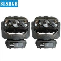 2ピース/ロット高パワークモビームled照明9ピースヘッド移動回転ledライト用djライトプロ三角形クモビーム9ピース12ワッ