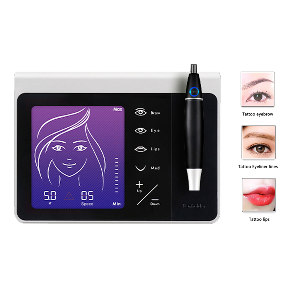 Pannel Eyebrow Tattoo Machine Permanent Makeup Microblading 3d Pen touch screen operation Cosmetics Facial Skin Care