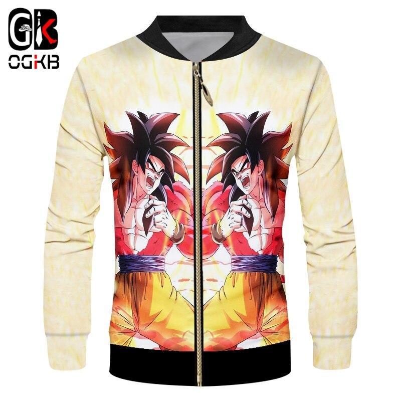 Z Dbz Bomber Vestes Logo Super Ball Anime Saiyan Hommes Goku Dragon xZIPFq