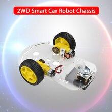 KEYES 2WD 2 Двигатель умный робот шасси автомобиля производство DIY Kit для Arduino Батарея коробка Бесплатная доставка