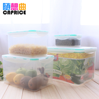 Green Rectangle Mint Green Preservation Box Kitchen Storage Box Food Preservation Box Can Be Used In