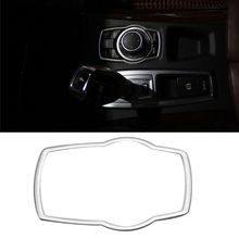 Stainless Steel Interior Refit Multimedia Buttons Cover Car Accessories For BMW X1 X3 X5 X6 F20 F01 F30 F15 F34 F31 for bmw e90 e92 e93 f20 f21 f30 f31 f32 f33 f34 f15 f10 f01 f11 f02 g30 m performance side skirt sill stripe body decals sticker