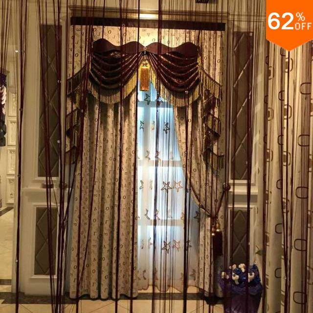shower curtain in living room tan leather sofa ideas stage curtains magnetic english character suction hotel mosquito window wide 2 meter