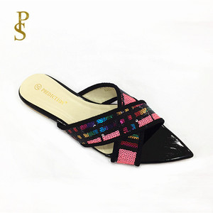 Image 4 - الصيف الشقق أحذية نسائية Ms النعال سيدة الأحذية