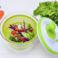 Home salad dryer, vegetables, fruits, water basket, leachate basket