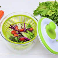 kitchen accessories Fruit and vegetable dryer washing machine A must for making salad