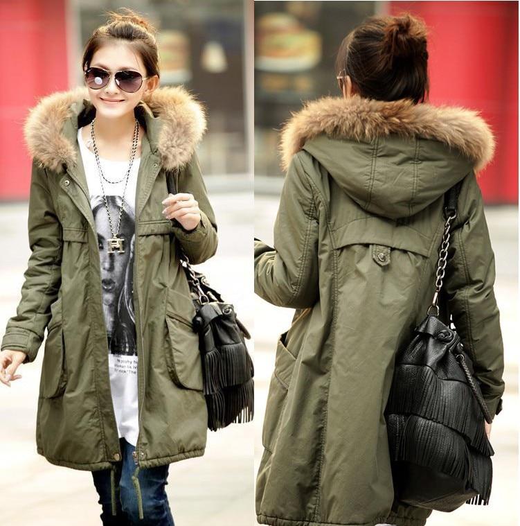 Long Green Jacket Women - My Jacket