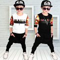 Boys Clothing Set 2017 New Fashion Sport Suit Sweatshirts & Harem Pants Kids Hip Hop Clothing Suit 2 3 4 5 6 7 8 9 10 years