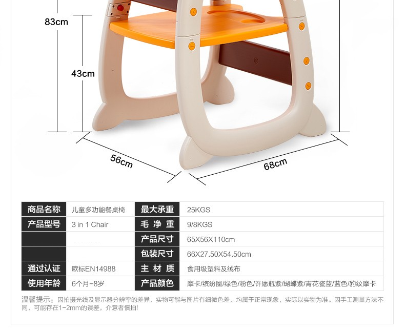 Plastic Tables For Children Lunchinfant Baby Safety Portable High Chairbaby Booster Seat For Dining Chairrehausseur De Chaise In Booster Seats From