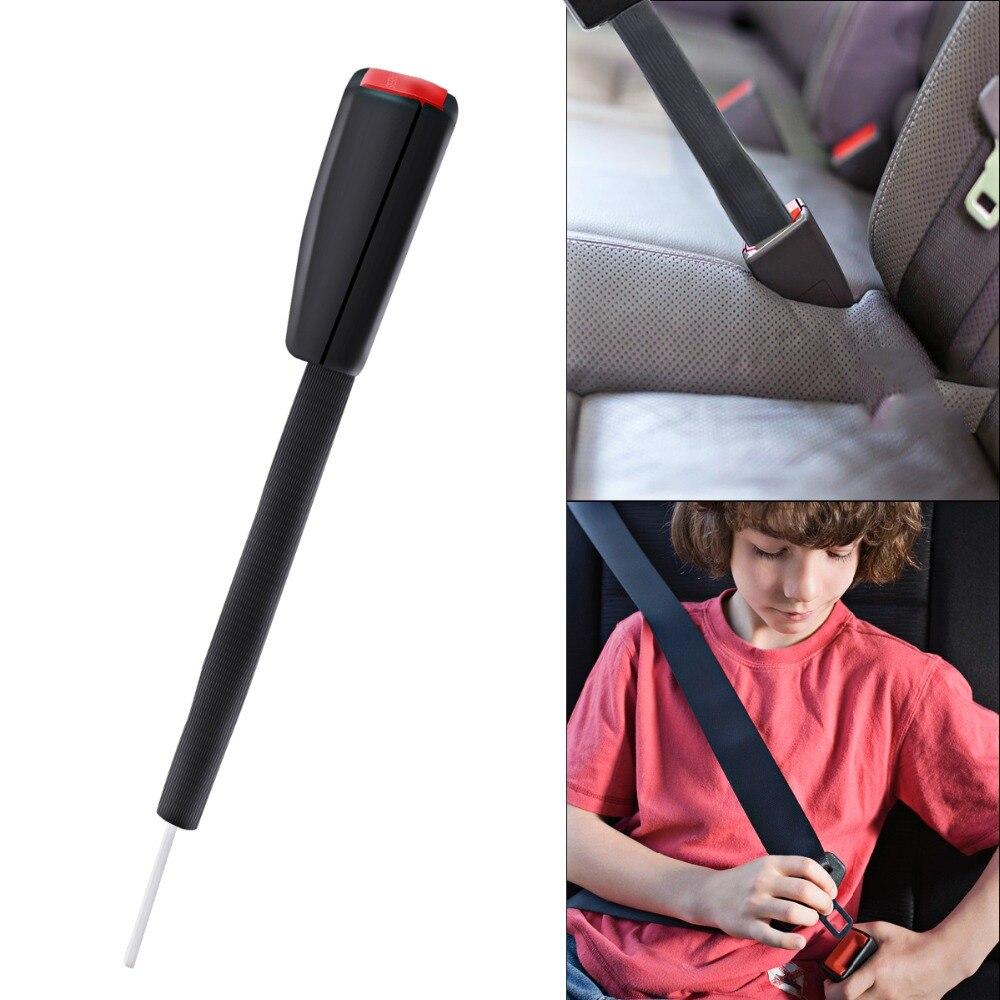 Universal Car Truck RV Seat Belt Extender 25cm Metal ABS Safety Buckle Clip