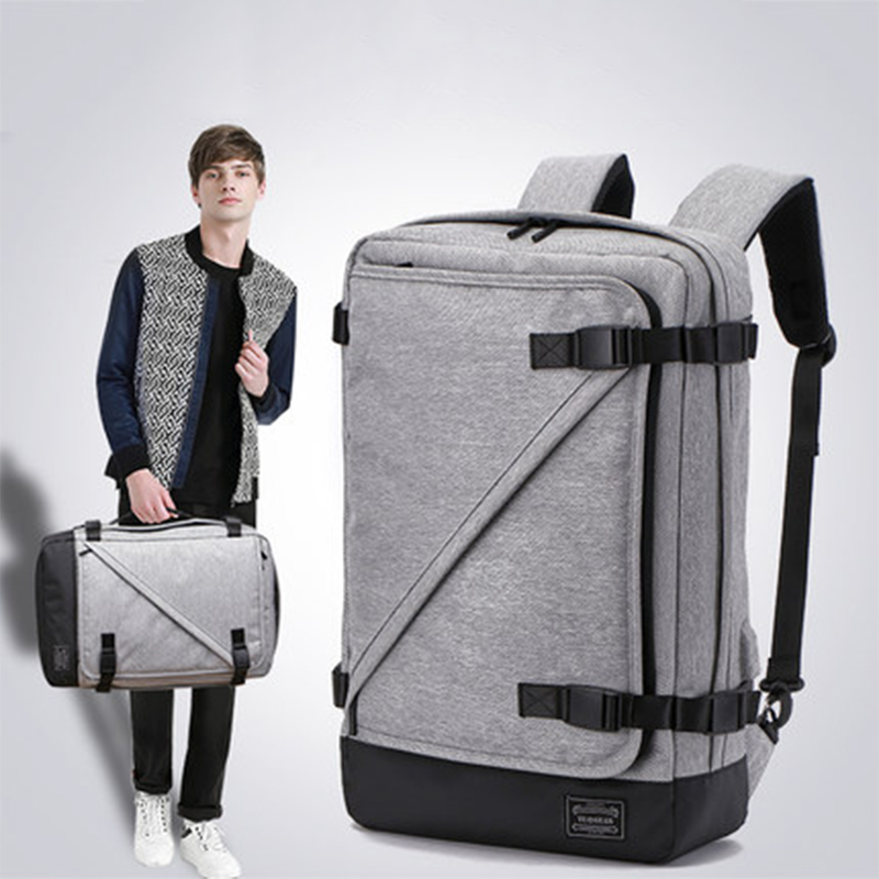 Casual Water Resistant Oxford Men Backpack Daily Multifunction Business Male Rucksack Portable Buckle Man Laptop MochilaCasual Water Resistant Oxford Men Backpack Daily Multifunction Business Male Rucksack Portable Buckle Man Laptop Mochila