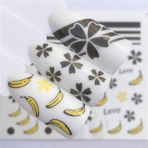 Image 4 - LCJ 32 Styles Available  Flower Nail Stickers Water Transfer Decals Decoration Dream Cather Slider For Nail DIY Tips