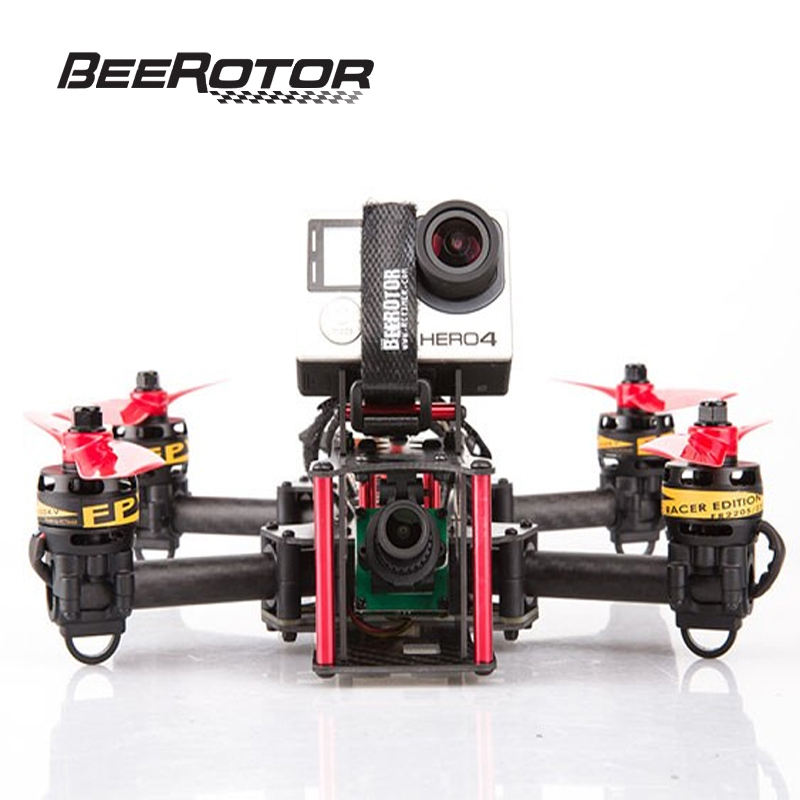 BeeRotor Victory 230 Mini Quadcopter FPV Racer ARF Multi-axis Camera Drone 500mW RTF Frame Kit Combo Fully Assembled VT230-2306 beerotor victory 230 mini fpv racing drones quadapter arf fully assembled racer