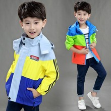 Childrens clothing spring and autumn new boy jacket outdoor student hiking clothes
