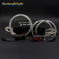 Rockeybright 1set LED Angel Eyes Halo Rings kit for TOYOTA ALL/ALTEZ car styling for LEXUS IS200 IS300 1998 2005 CCFL Angel Eyes