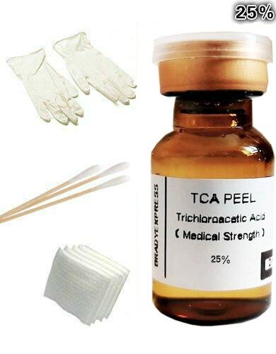 2ML 25% TCA Skin Peel Kit - Skin Lightening, Skin Bleaching, Skin Lightener Whitener Free Shipping