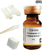 25% TCA Skin Peel Kit - Skin Lightening, Skin Bleaching, Skin Lightener Whitener Free Shipping