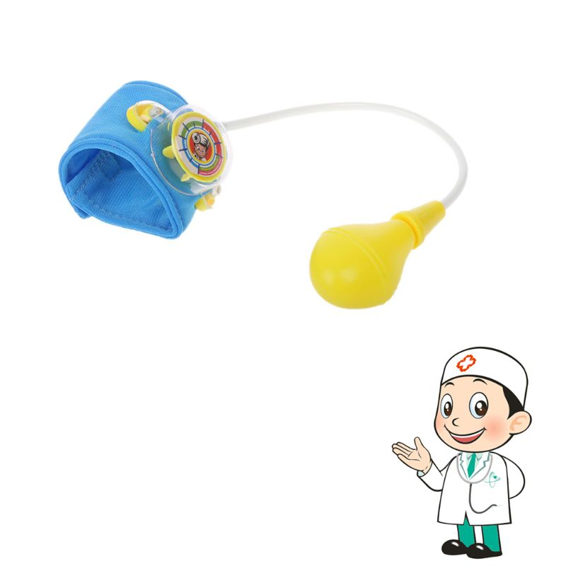 Nurse Pretend Play Toy Blood Pressure Toy Play Real Life Cosplay Medicine Doctor Toy image