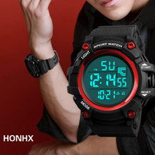Watches Men 30M Waterproof Electronic Led Digital Watch Men Outdoor Sports Wrist Watches Stopwatch Relojes Hombre Male Clock(China)